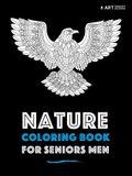 Nature Coloring Book For Seniors Men