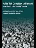 Rules for Compact Urbanism: Ibn Al-Rami's 14th Century Treatise