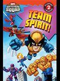 Super Hero Squad: Team Spirit! (Passport to Reading Level 2)
