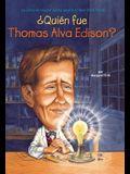 ¿Quién fue Thomas Alva Edison? (Who Was?) (Spanish Edition)