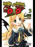 High School DXD, Vol. 3 (Light Novel): Excalibur of the Moonlit Schoolyard