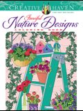 Creative Haven Fanciful Nature Designs Coloring Book