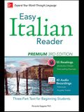 Easy Italian Reader, Premium: A Three-Part Text for Beginning Students