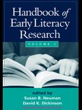 Handbook of Early Literacy Research, Volume 1, Volume 1