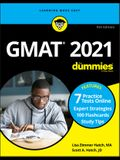 GMAT for Dummies 2021: Book + 7 Practice Tests Online + Flashcards