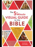 The 5-Minute Visual Guide to the Bible: Time Lines, Photographs, Paintings, and Maps to Enhance Your Understanding of God's Word