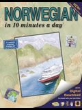 Norwegian in 10 Minutes a Day: Language Course for Beginning and Advanced Study. Includes Workbook, Flash Cards, Sticky Labels, Menu Guide, Software,