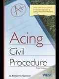 Acing Civil Procedure: A Checklist Approach to Solving Procedural Problems