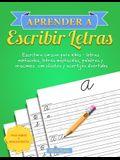 Aprender a escribir letras: Escritura cursiva para niños - letras minúsculas, letras mayúsculas, palabras y oraciones con chistes y acertijos dive