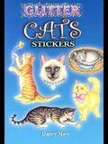 Glitter Cats Stickers