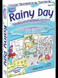 Rainy Day: Coloring, Puzzles, Tattoos, and More! [With Sticker(s) and Think Green Memory Game and Crayons and Tattoos and Coloring & Activity Books