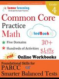 Common Core Practice - Grade 4 Math: Workbooks to Prepare for the Parcc or Smarter Balanced Test