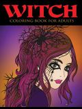 Witch Coloring Book for Adults