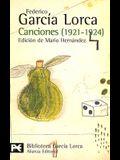 Canciones: 1921-1924