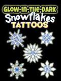 Glow-In-The-Dark Tattoos Snowflakes