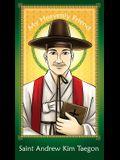 Prayer Card: Saint Andrew Kim Taegon