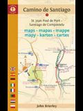 Camino de Santiago Maps - Mapas - Cartes: St. Jean Pied de Port - Santiago de Compostela