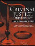 Criminal Justice Information