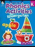 Foundational Skills: Phonics for Kindergarten (Grade K): Phonics for Kindergarten [with Cdrom] [With CDROM]