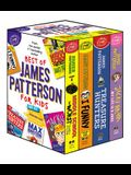 Best of James Patterson for Kids Boxed Set (with Bonus Max Einstein Sampler)