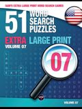 Sam's Extra Large-Print Word Search Games: 51 Word Search Puzzles, Volume 7: Brain-stimulating puzzle activities for many hours of entertainment