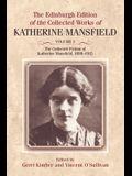 The Collected Fiction of Katherine Mansfield, 1898-1915
