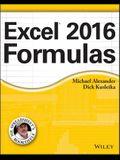 Excel 2016 Formulas