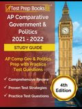 AP Comparative Government and Politics 2021 - 2022 Study Guide: AP Comp Gov and Politics Prep with Practice Test Questions [4th Edition]