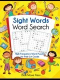 Sight Words Word Search: High-Frequency Word Puzzles for Prek-1st Grade