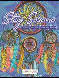 Stay Serene Dream Catcher Coloring Book
