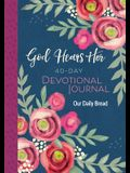 God Hears Her 40-Day Devotional Journal