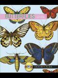 Butterflies [With Doverpictura CD]