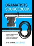 Dramatists Sourcebook 26th Edition