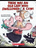 There Was an Old Lady Who Swallowed a Cow!: A Board Book