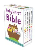 Baby's First Bible Boxed Set: The Story of Jesus, Noah's Ark, the Story of Moses, Adam and Eve