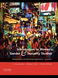 Introduction to Women's, Gender and Sexuality Studies: Interdisciplinary and Intersectional Approaches
