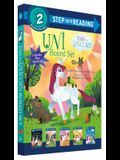 Uni the Unicorn Step Into Reading Boxed Set: Uni Brings Spring; Uni's First Sleepover; Uni Goes to School; Uni Bakes a Cake; Uni and the Perfect Prese