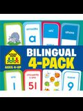 Bilingual Flash Card 4-Pack