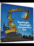 Goodnight, Goodnight Construction Site (Hardcover Books for Toddlers, Preschool Books for Kids)