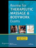 Review for Therapeutic Massage and Bodywork Exams [With Access Code]