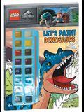 Lego(r) Jurassic World(tm): Let's Paint Dinosaurs