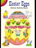 Easter Eggs Sticker Activity Book