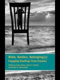 Bible, Borders, Belonging(s): Engaging Readings from Oceania