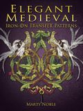 Elegant Medieval Iron-On Transfer Patterns