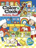 Color & Cook Activity Book