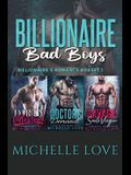 Billionaire Bad Boys: Billionaire's Romance Boxset 1