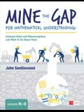 Mine the Gap for Mathematical Understanding, Grades K-2: Common Holes and Misconceptions and What to Do about Them