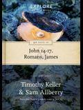 90 Days in John 14-17, Romans & James: Wisdom for the Christian Life