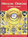 Heraldic Designs CD-ROM and Book [With Clip Art]