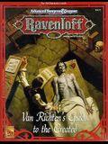 Van Richten's Guide to the Created Rr8: Ravenloft Accessory